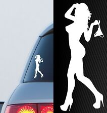 SEXY GIRL car ute PANTY DROPPER 4x4 4wd accessories sticker funny jdm