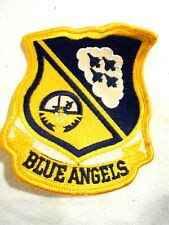 """Blue Angels Cloth Patch-Wings 4"""""""