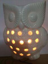 Owl Oil Burner White #H65