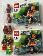 LEGO® Galaxy Squad 6 Figuren + Zubehör + 2x Polybag 30230 Mini Mech Neu Neuware