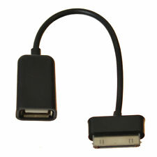 Black 30 Pin to Female USB Adapter OTG Cable for Samsung Galaxy Tab 2 10.1