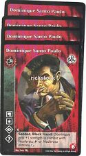 Dominique Santo Paulo x4 Toreador antitribu 3rd Ed