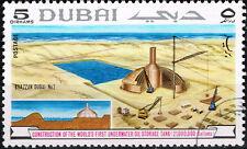 Dubai Crude Oil Petroleum Underwater Tank Construction stamp 1969