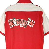 Kingpin Bowling Shirt Vintage 90s 1996 Movie Studio Promo Made In USA Size Large