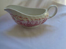 British Hostess Tableware Olde Country Castles Gravy Boat