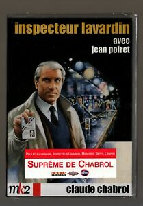 INSPECTEUR LAVARDIN  Claude CHABROL  Jean POIRET / BRIALY    DVD ZONE 2 NEUF