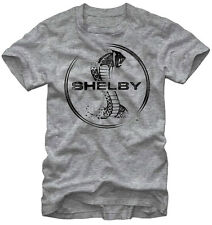 Official Shelby Cobra Aged Cobra Adult T-Shirt -Sports Car With Ford V8 Engine T