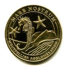 34 MONTPELLIER Mare Nostrum, Hippocampe et raie manta, 2010, Arthus-Bertrand