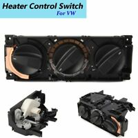 AC Air Heater Climate Control Panel Switch For VW Jetta Golf MK3 1H0820045D