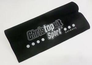Christopeit  Bodenschutzmatte schwarz 160x84 cm Unterlage Fitnessgerät BA5