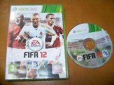 FIFA 12  - VF -   XBOX 360  BOITE CD