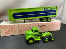 Winross Blue Arrow Tractor Truck With Trailer 1/64 Scale Diecast & Box