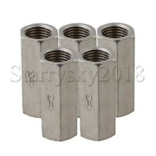 """5pcs 1/4"""" Threaded Female Full Port One Way Air Check Gas Oil Water Valve"""