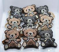 12 TEDDY BEAR BABY SHOWER PARTY FAVORS BOY GIRL RECUERDOS DE BAUTIZO KEYCHAIN