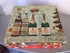 VINTAGE# SCATOLA IN CARTONE CINZANO ANNI 60 OLD CINZANO BOX RARE