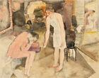 Charles Demuth Eight O'Clock Canvas Print 16 x 20   # 9171