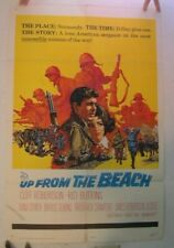 Up From The Beach 1965 Film Poster Cliff Robertson Red Buttons