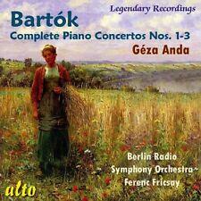 CD BARTOK COMPLETE PIANO CONCERTOS  1 - 3 GEZA ANDA FERENC FRICSAY BERLIN RSO