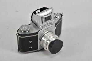 h12b30- Analoge Kamera von Ihagee, Exacta, Objektiv: Zeiss Tessar 2,8/50