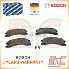 BOSCH FRONT DISC BRAKE PAD SET JEEP OEM 0986424823 05093183AA