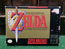 The Legend of Zelda: A Link to the Past SNES Complete CIB with Map (#22176)