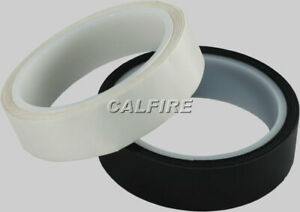 ROLL OF END SEALING/FINISHING THERMAL TAPE IN BLACK 25MM X 10M