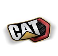 CAT Caterpillar Logo Vinyl Sticker Quality Decals, Free Shipping