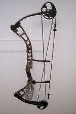new elite enlist right hand 70# bow with black limbs and camo riser