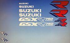 Suzuki GSXR750 GSXR750K restauración Decal Set 1989