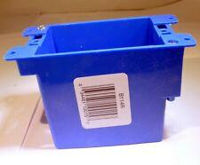 Carlon 4-1/8 in. H Rectangle 1 Gang Outlet Box Blue PVC, B114R-UPC