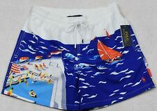 Polo Ralph Lauren Swim Trunks Briefs Shorts Swimming Pool Sailboat L Large NWT