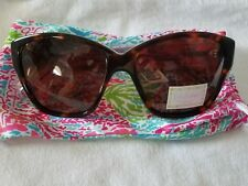 Lilly Pulitzer NWT Fordatoo Sunglasses = so cool pink & green