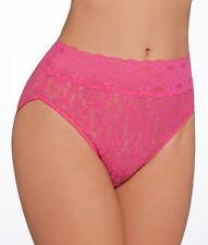 Wacoal Brief Halo Sheer Lace High-cut Fuchsia Womens Size M