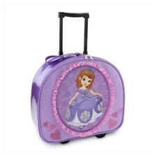 Disney Store Sofia the First Rolling Luggage Suitcase