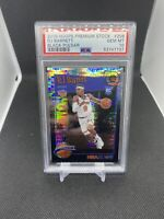 2019-20 Hoops Premium Stock Black Pulsar RJ Barrett RC #298 PSA 10 GEM MINT