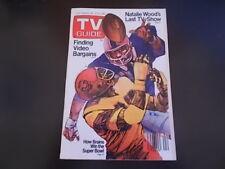 Natalie Wood - TV Guide Magazine 1982