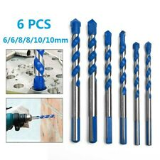 6 Drill Bit Hole Opener Tool Drill Electric Drill For Glass Ceramic Stone Tile