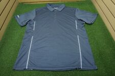 New Sunice Golf Wilson Polo Mens Size Large Charcoal/Gray  Clothing