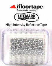 "LiteMark White High Intensity Light Focusing Reflective Tape (2"" X 36"" Roll)"