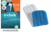 E-Cloth Deep Clean Mop Head Replacement for Laminate, Stone and Wooden Floors