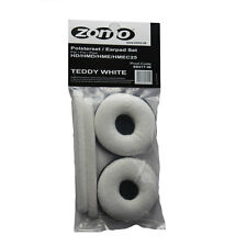 Sennheiser HD25/HD 25 SP Terciopelo Teddy Blanco de Repuesto Ear Pad Set por Zomo