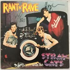 """Autographed Stray Cats """"Rant N' Rave With The Stray Cats"""" Vinyl"""