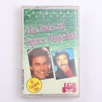 John Rowles & Englebert Humperdinck - 16 Greatest Hits - Cassette Tape [JB413C]
