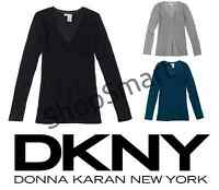 NEW DKNY Jeans Women's Classic V-Neck Sweater - VARIETY