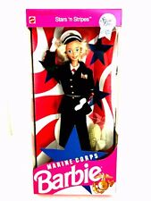 Barbie Doll Stars 'n Stripes Marine Corps 7549 Gift Set 1991 Special Edition
