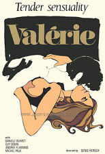 VALERIE Movie POSTER 27x40 Yvan Ducharme Andr e Flamand Hugo G linas Guy Godin