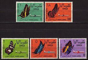 #1915 - Somalia - Posta aerea Farfalle, 1961 - Nuovi (** MNH)