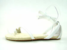 FLIP FLOP Toe Show Sandalen 38 NEU Ballerinas luftig Leder weiß 5878