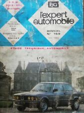 Revue technique BMW E21 320/6 323i tous types EXPERT AUTOMOBILE N°165 1980