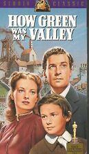 How Green Was My Valley (VHS TAPE) MAUREEN O'HARA RODDY MCDOWALL WALTER PIDGEON